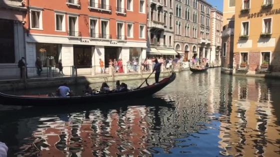 Venedig gondol
