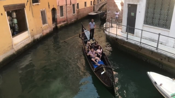 Gondol Venedig