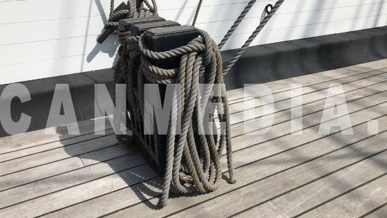 Rope HMS Warrior 1860