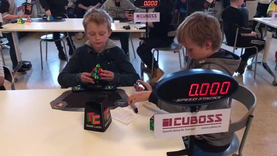 Cube contest