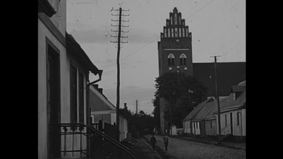 A typical street in Århus 1913