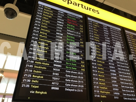 Departures Flight