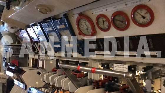 Inside HMS Alliance P417